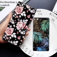 купить For Smartisan 3 case Cute Cartoon Painting soft Back Cover For Smartisan3 case For Smartisan U3 2018 Nut 3 Phone Cases  shell дешево