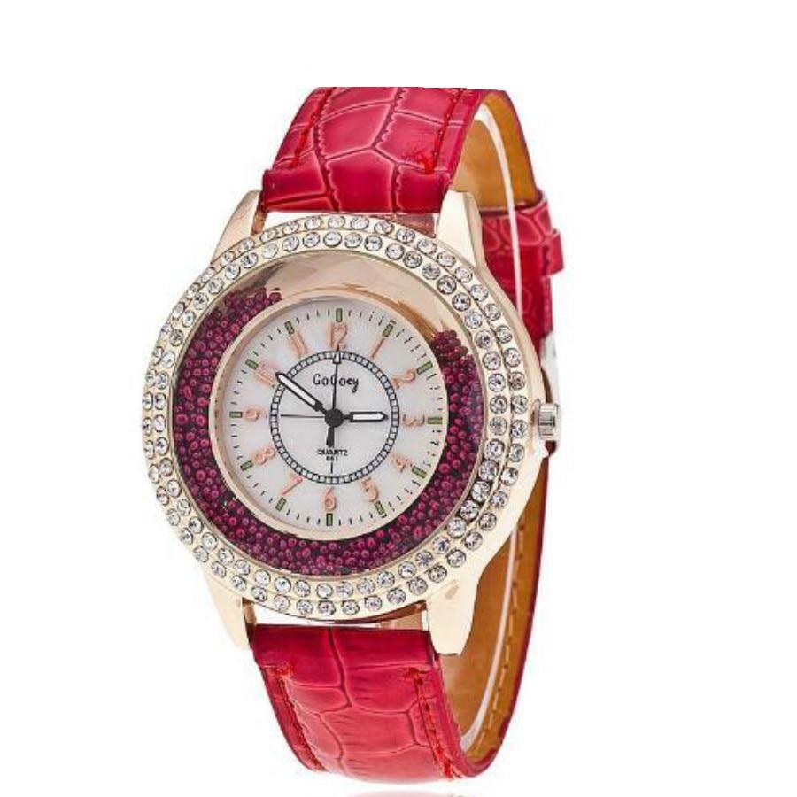 2016 Moda marca de lujo de Cristal de Diamante Reloj de Las Mujeres Rhinestone de la