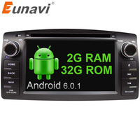 Eunavi 2 Din Car DVD For Toyota Corolla E120 BYD F3 Android 6 0 Quad Core