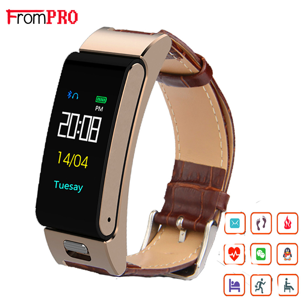 A9S Smart Talkband with Bluetooth Headset Smart Wristwatch Band Music Control Pedometer Sleep Monitor Smartband Watch Bracelet hot sale genuine leather band watch lemfo lme1 mtk2502 bluetooth smart watch with pedometer sleep monitor unisex watch