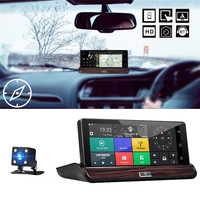 Kroak 7 Inch Car DVR Camera Recorder 3G Android 5 0 Dashboard Car DVR GPS Navigation