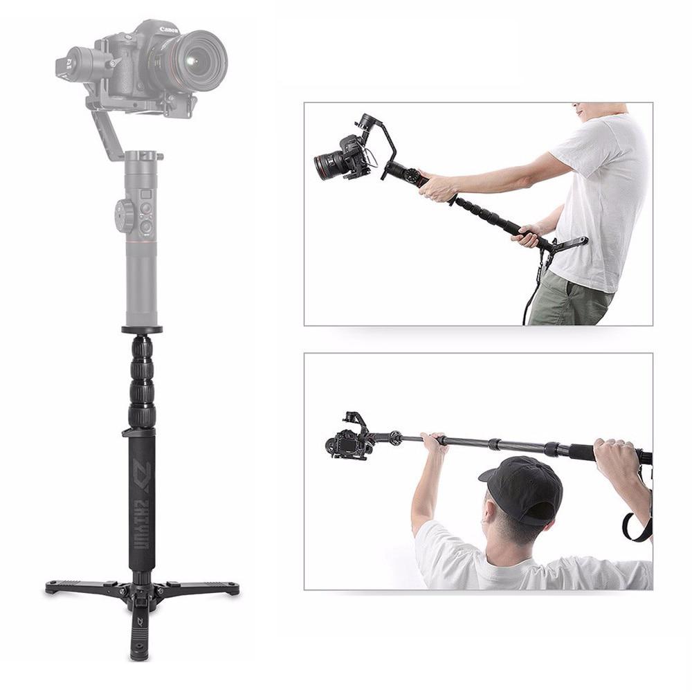 Zhiyun Official Telescopic Monopod For Zhiyun Crane 2 Handheld Gimbal Stabilizer With 1 4 Mounting Screw