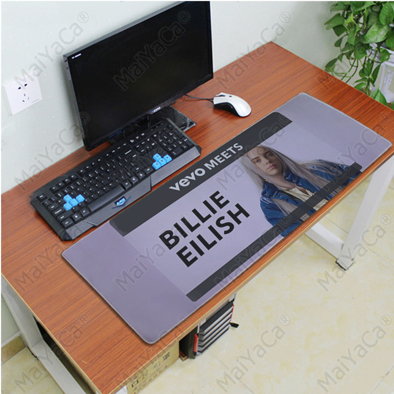 MaiYaCa My Favorite Billie Eilish Laptop Computer Mousepad Free Shipping Large Mouse Pad Keyboards Mat in Mouse Pads from Computer Office