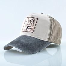 2019 New Spring and summer men women Baseball Hat street  hip hop hat Unisex cat animal cap Sports