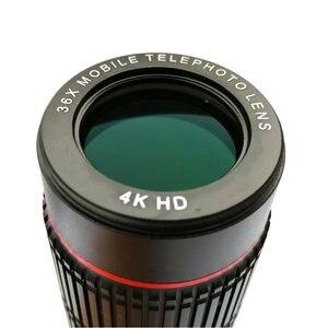 Image 4 - SNAPUM téléphone portable HD 4K 36x télescope caméra Zoom optique téléphone portable téléobjectif pour iphone samsung oppo vivo xiaomi