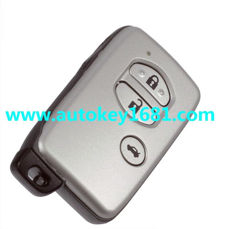 Diskret 3 Knopf-fern Smart Key Shell Fall Ersatz Für Toyota Avalon Highlander Rav4 Toyota Camry Krone Highlander Venza Attraktive Designs;