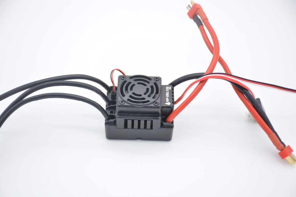 150A Waterproof Brushless ESC Speed Controller For 1/8 RC Car Buggy truck high quality new 320a speed controller esc for rc car boart 1 8 1 10 truck buggy hot sale wholesale dorp shipping