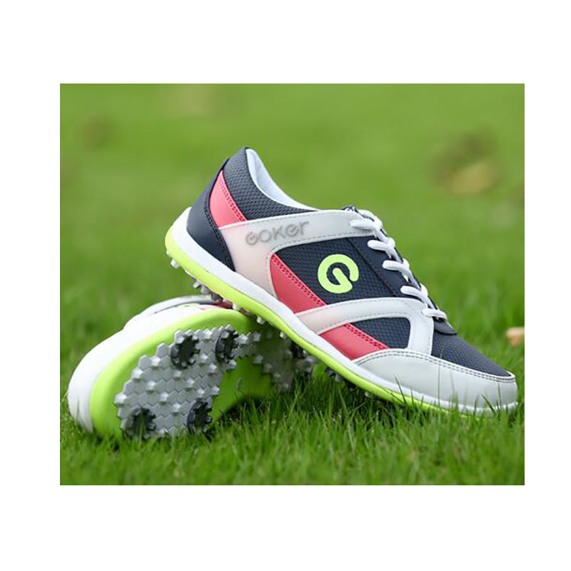 2018 New Ladies Golf Shoes GOLF Shoes Golf Shoes Breathable Nail Activities Are Waterproof Shoes kelme 2016 new children sport running shoes football boots synthetic leather broken nail kids skid wearable shoes breathable 49