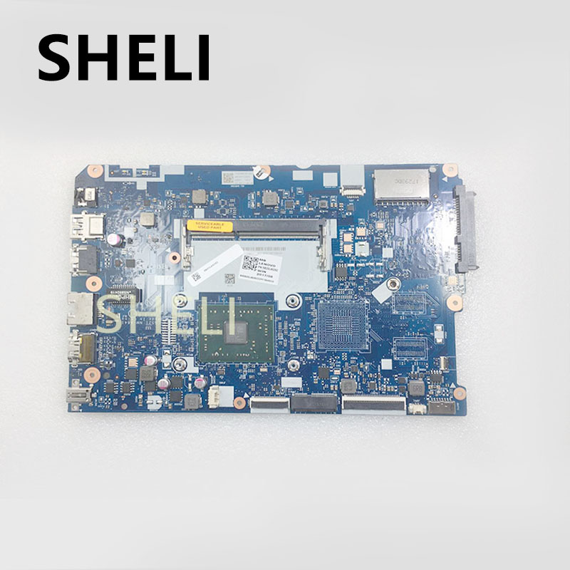 SHELI FOR LENOVO  CG521 NM A841 motherboard  110 15ACL notebook motherboard CPU A4 7210 R5 M430 2G DDR3 100% test work|Motherboards| |  - title=