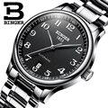 Nieuwe BINGER Merk Luxe Automatische Mechanische Mannen Horloge Saffier Horloges Mannelijke Militaire Relogio Waterdicht mannen Horloges BG-0379-2