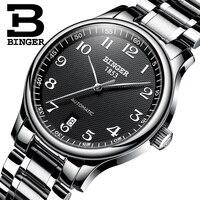 Relógio masculino  marca de luxo automático  mecânico  relógios de safira  masculino  militar  à prova d'água  BG-0379-2