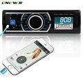 Одного Автомобиля Гама Радио 12 В Стерео В тире 1 Din FM Aux Вход приемник 50Wx4 Выходная SD USB MP3 MMC WMA Автомобиль Радио-Плеер Новый