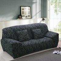 Sofa-slipcover Strakke Wrap All-inclusive antislip Sectionele Elastische Volledige Hoekbank Cover l vormige sofa 1/2/3/4 zits 1 ST