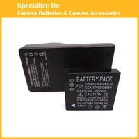 1pcs DB 65 Battery 1pcs Charger For Panasonic Lumix DMC FX180 DMC LX1 DMC LX2 LX3