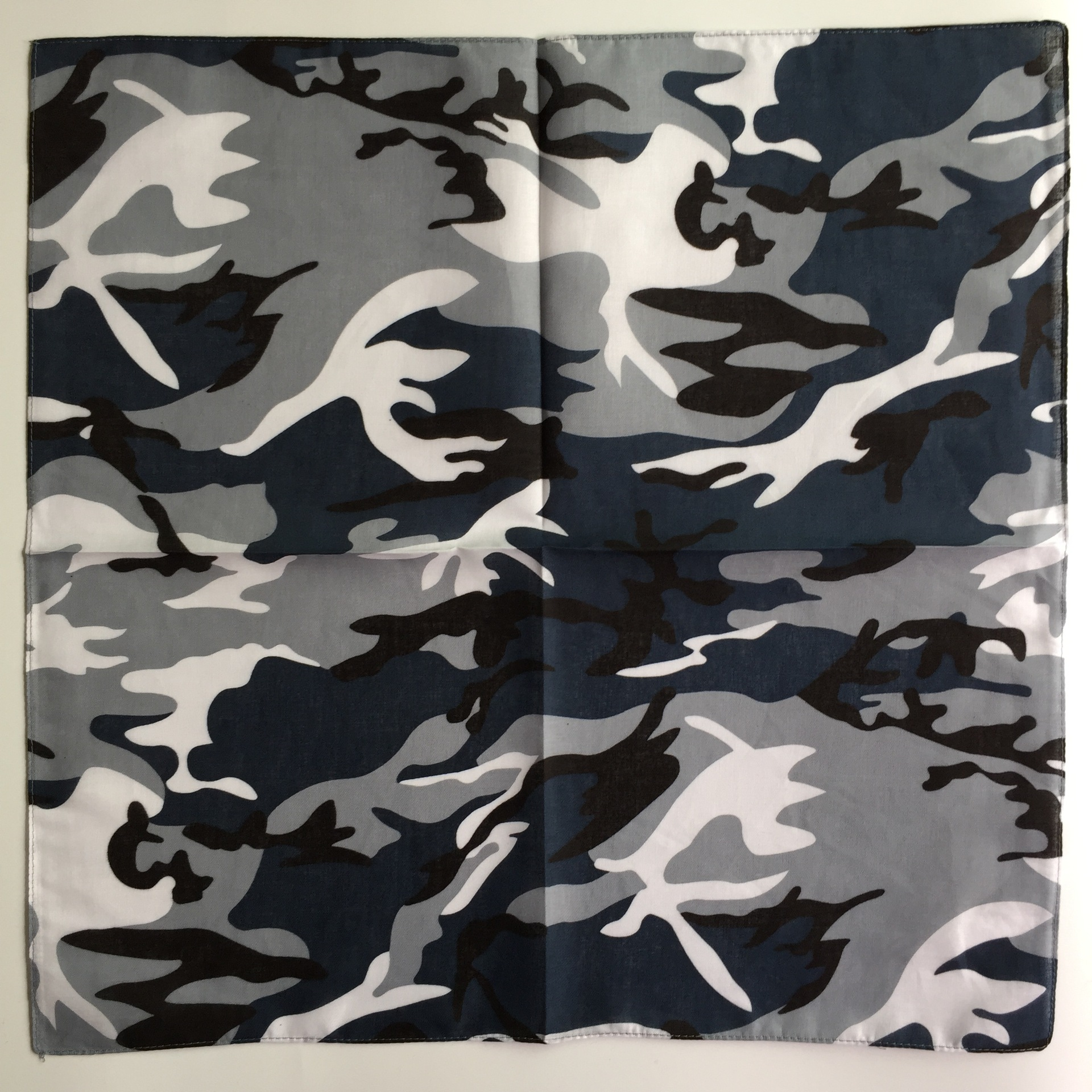 36pcsYKP Non Fading Camo Printing Cotton Bandanas Scarf Cheap Men Camouflage Face Kerchiefs Sport Bandana Neck Scarves Wholesale