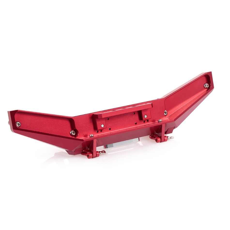 RC автомобильные запчасти высокого качества металлический передний бампер Bull БАР для 1/10 SCX10II 90046 TRAXXAS Crawler RC автомобиль внедорожный Рок Гусеничный