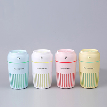 usb air humidifier 300ml Aromatherapy USB mini Car Aroma Essential Oil Diffuser office home air humidifier funho aroma diffuser mini air humidifier oil humificador aromaterapia para casa 5 color selectable for home office car 078