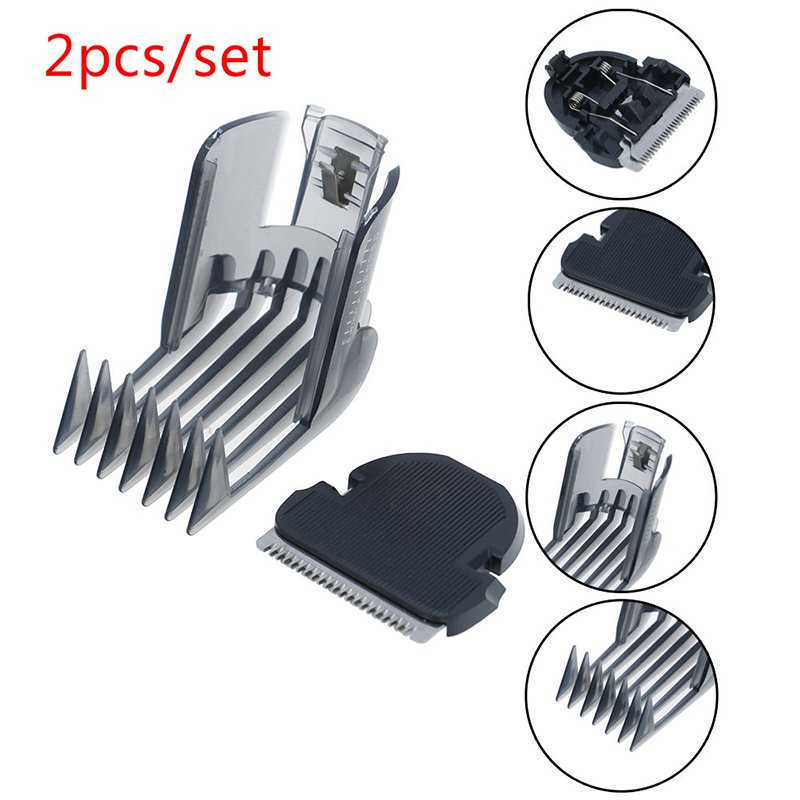 2pcs/set Hair Clipper Comb + Hair Trimmer Cutter For QC5105 QC5115 QC5155 QC5120