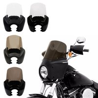 TCMT Motorcycle Front Fairing Windshield For Harley Dyna Wide Glide Fat Street Bob FXDL FLD FXDF FXDXT