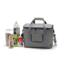 18L Insulation Package Portable Waterproof Lunch Bags Thermal Insulated Neoprene Cooler Lunch Bag Tote With Zipper