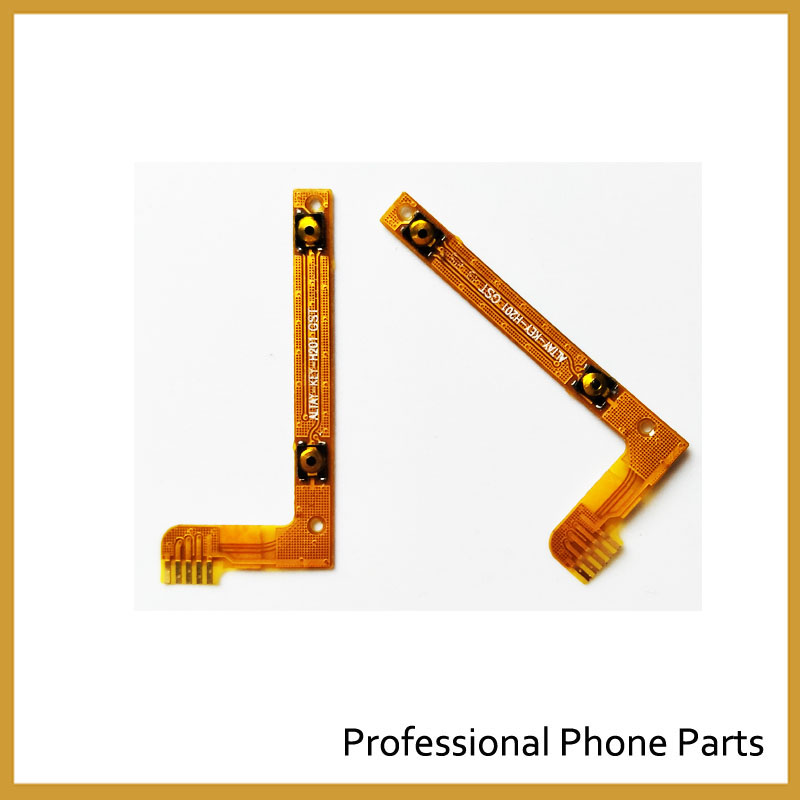 Original Volume Button Key Flex Cable FPC For Lenovo A3000 Repair Parts