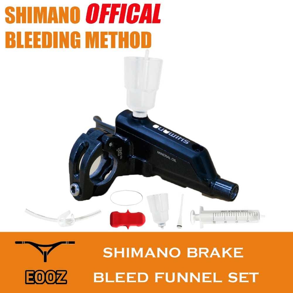 Bicycle Hydraulic Brake Bleed Kit For Shimano MTB And Road Brake System Mineral Oil Brake, Funnel Set Bike Repair Tool Kit