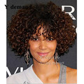 African American Wigs Kinky Curly Synthetic Wig Synthetic Wigs Short Afro Wigs For Black Women