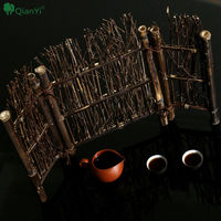Bamboo Fence Bamboo Weaving Pure Hand Days Type Food Decoration Sushi Sashimi Dish Decoration Bamboo