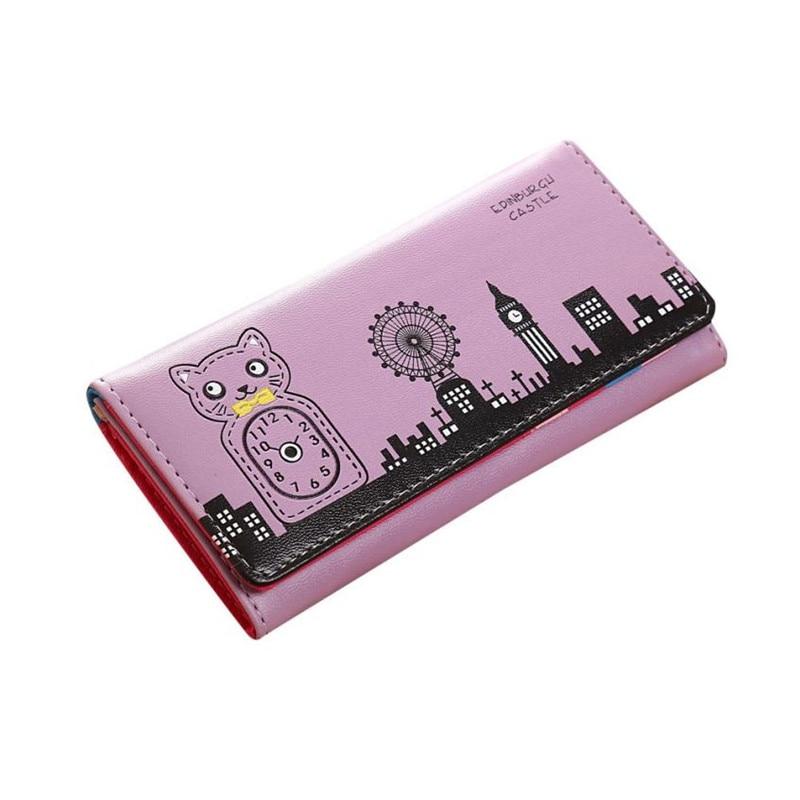 Valink 2017 Fashion Women Wallet Bolsa Feminina Hasp Coin Purse Long Wallet Card Holders Handbag Wallet Women Carteira Feminina 4