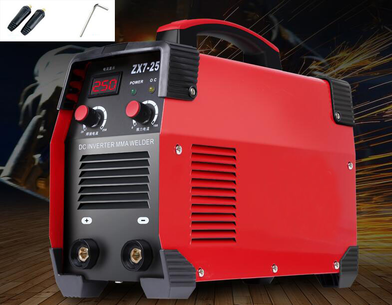 All Copper DC Household Welding Machine DC Inverter MMA Welder ZX7-250 220V portable arc welder household inverter high quality mini electric welding machine 200 amp 220v for household