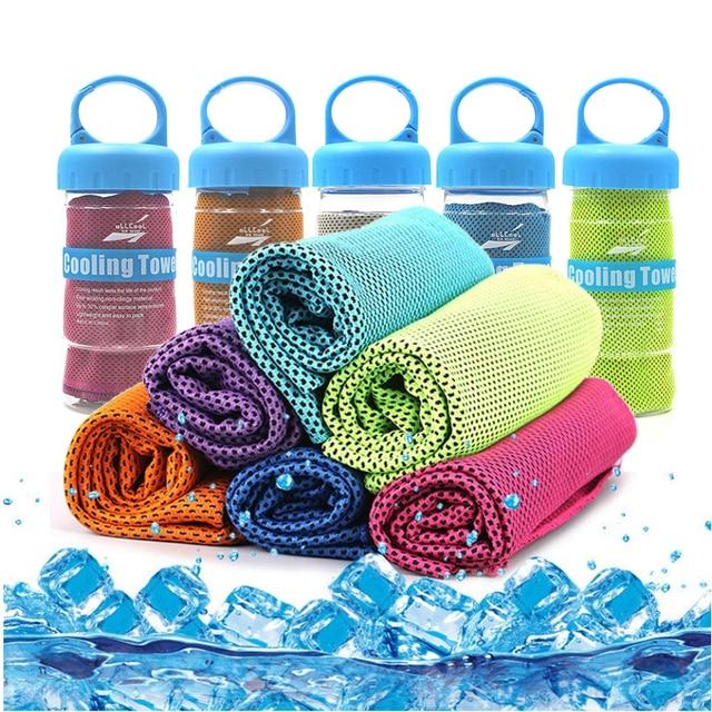 Toalla deportiva de enfriamiento rápido para glaseado, toalla de playa de verano, Toalla de baño de secado rápido, toallas de baño para adultos, gimnasio, Yoga y Fitness
