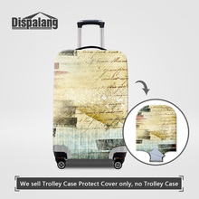Dispalang 3D Denim Design Elastic Stretch Luggage Protective Covers For 18-30 Inch Travel Trolley Case Women Men Protector Cover