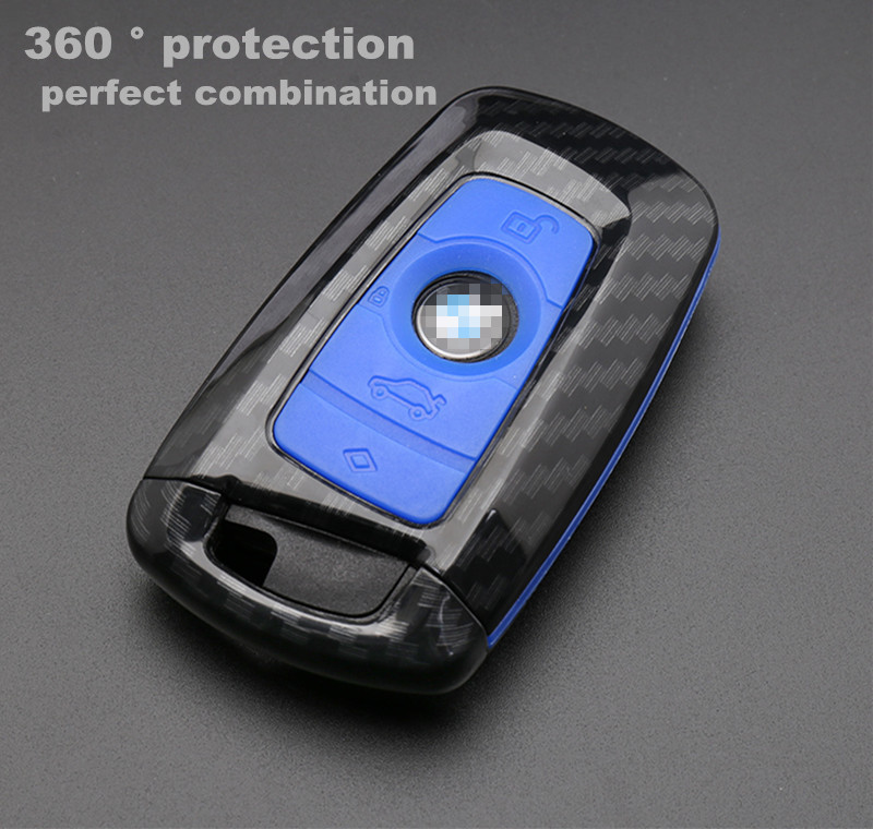 2019 new Car Key Case For BMW 1 2 3 4 5 6 7 Series X1 X3 X4 X5 X6 F30 F34 F10 F07 F20 G30 F15 F16 car keychain