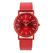 Stylish Quartz Watch Woman's Wristwatches High-end Blue Glass Life Waterproof Distinguished Women Wrist Watch Relogio Feminino(China)