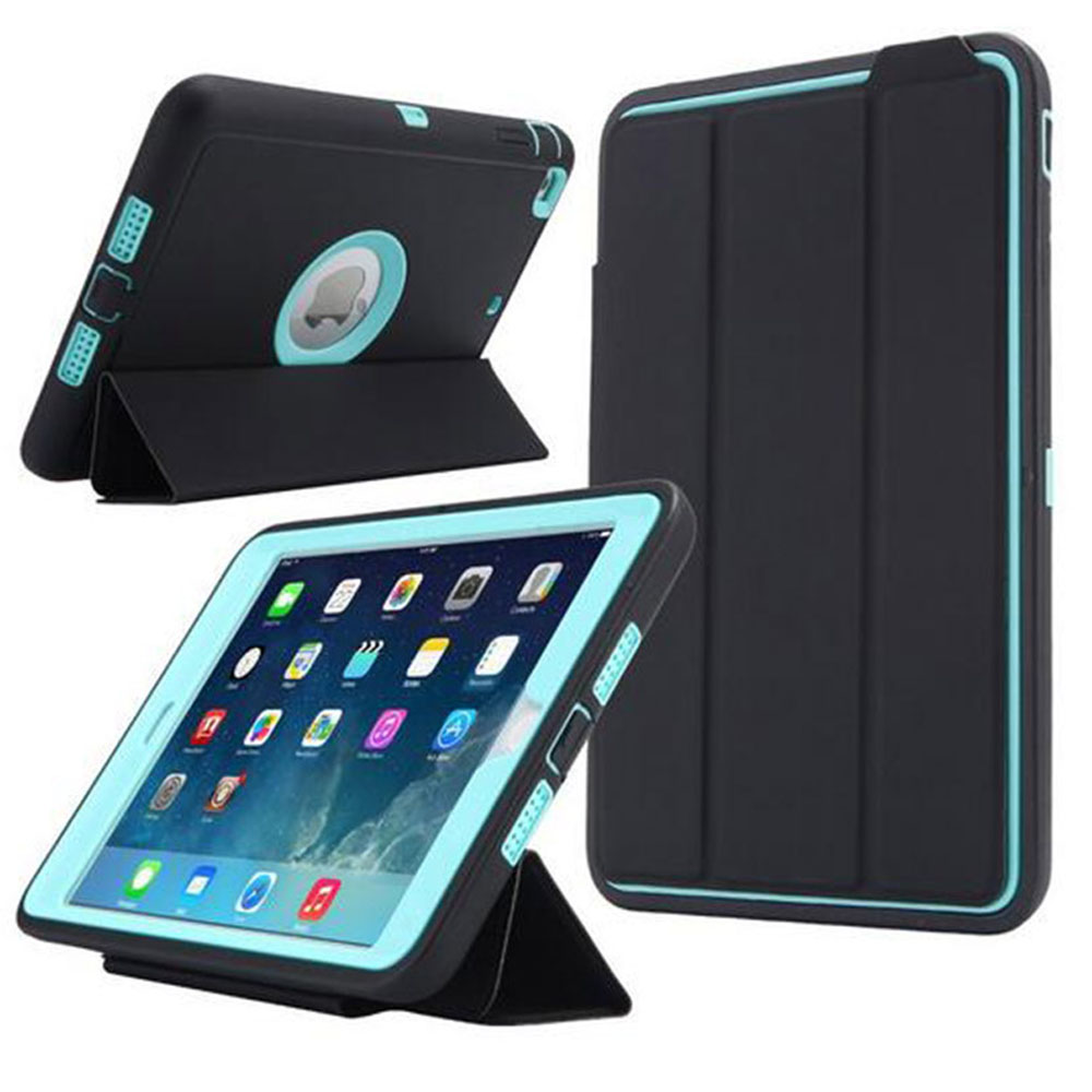 все цены на case For Apple iPad 2 iPad 3 iPad 4 Retina Case Kids Safe Armor Shockproof Heavy Duty Silicone Hard Cases Cover онлайн