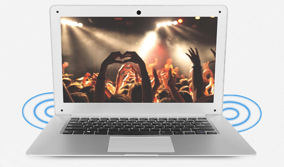 Jumper EZbook 2 A14 Laptop 14.1 Inch Windows 10 Ultrabook 1920 x 1080 FHD Display Intel Cherry Trail Quad Core Z8300 4GB RAM 64GB eMMC ROM Bluetooth Ultraslim Notebook Computer (15)