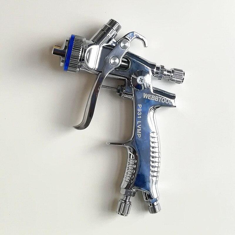 NEW PGK B PLUS professional Gravity spray gun car paint gun painted high efficiency RP 1.3mm NOZZLE P931G