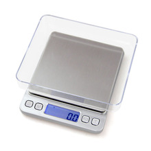 ACCT 2000g*0.1g Digital Scale Mini Portable Weight Electronic High Accuracy Balance Machine Kitchen Jewelry Balanca Tools