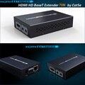 Новый HDBaseT HDMI удлинитель по cat5e/6 кабель HDMI удлинитель ИК-контроль HDMI 1 4 V до 70M 3D 4K x 2K с адаптером питания 12V