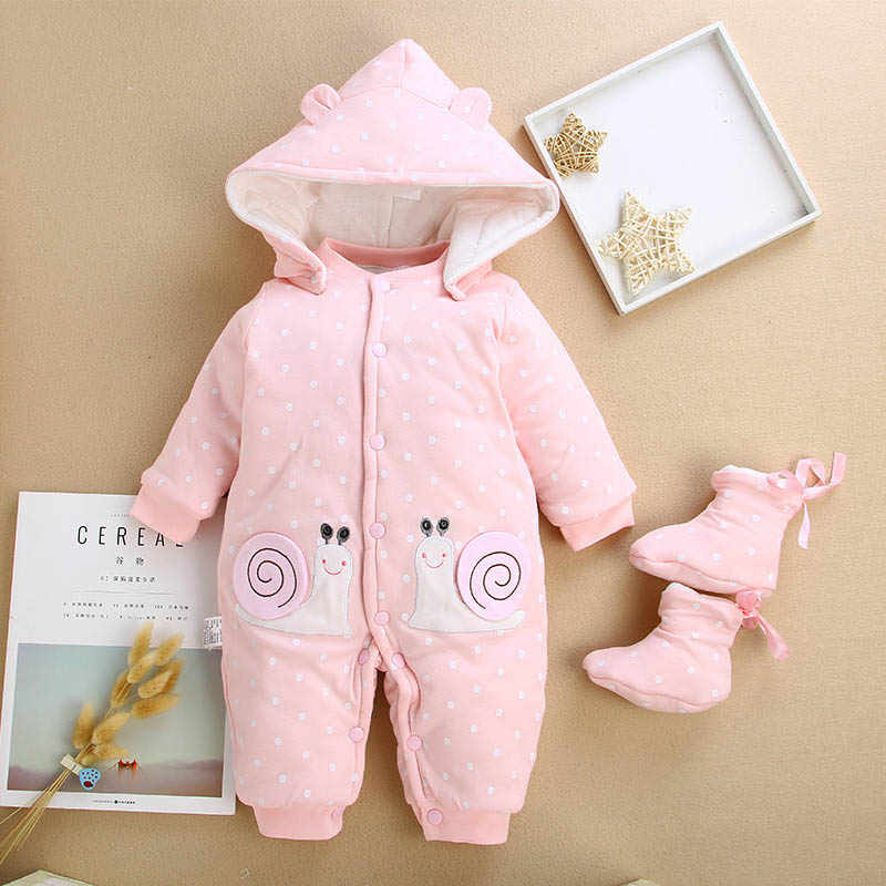 8d519574d88 Detail Feedback Questions about BibiCola baby girls winter jumpsuits  newborn baby cotton warm thick rompers for baby infant boys long sleeve  overalls ...