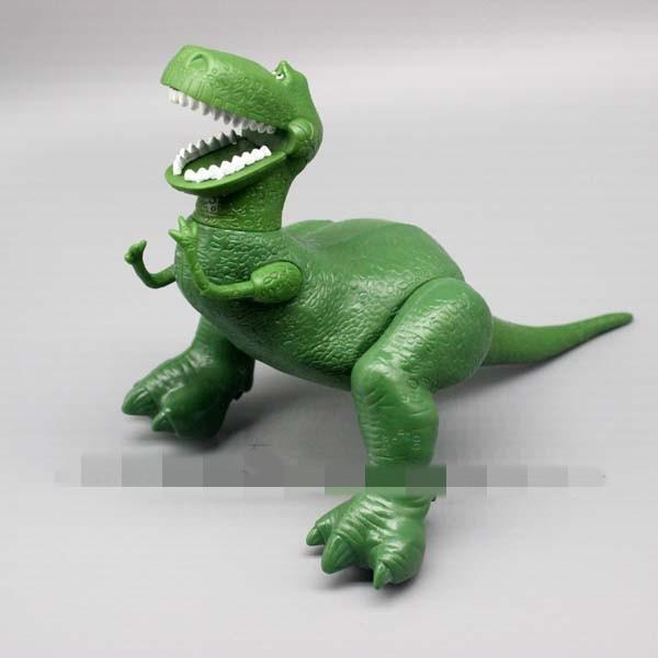 7 cm Toy Story 3 Rex el dinosaurio verde PVC figura juguete coleccionable  modelo de juguete 7d26211ac8d