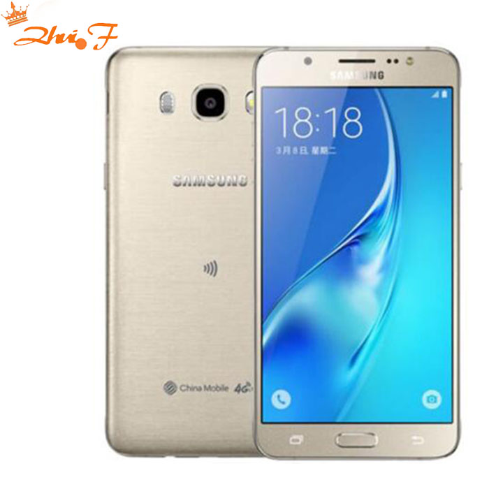 Samsung Galaxy J5 (2016) j5108 телефон 2 ГБ 16 ГБ Встроенная память 5.2 дюймов Экран 4 ядра Snapdragon FDD 4 г LTE смартфон