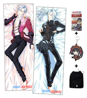 Hobby Express Yuri!!! on Ice Long-Haired Viktor Nikiforov Male Anime Dakimakura Japanese Hugging Body Pillow Cover ADP73059