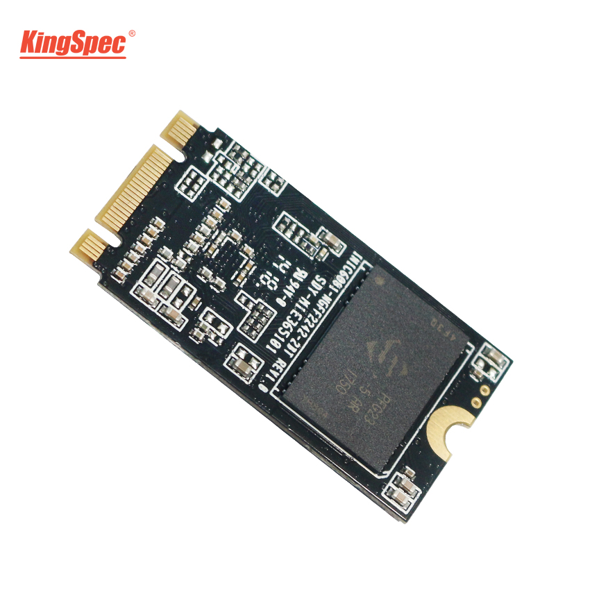 M2 KingSpec SSD de 120GB 256GB 22*42mm SATA III 6 Gb/s NT-256 2242 M.2 HD Interno HDD Unidade de disco rígido para Notebook/PC/Desktops/Ultrabook
