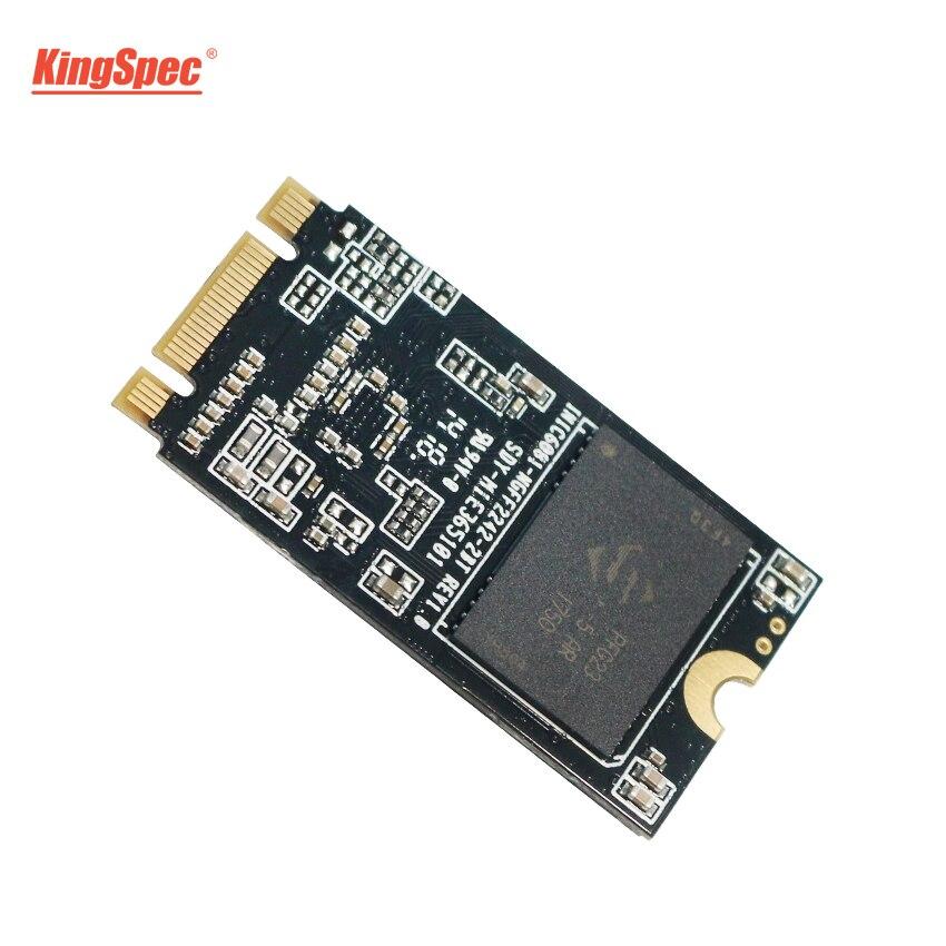 SSD KingSpec M2 120 GB 256 GB 22*42mm SATA III 6 Gb/s NT-256 2242 M.2 HD interno HDD disco duro para el cuaderno/PC/escritorio/Ultrabook