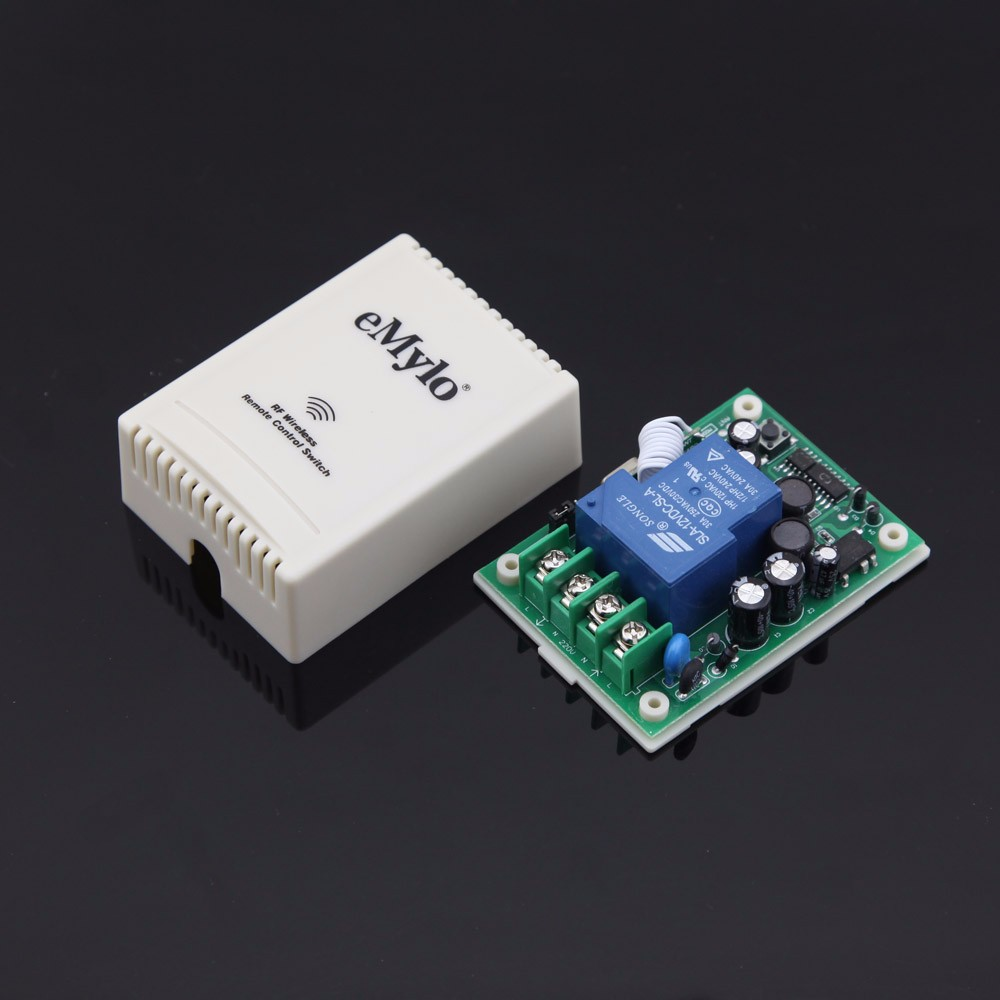 Emylo Ac 100 240v 2500w Rf Wireless Learning Remote Control Light Controlling The Stepper Motor Wirelessly Through Link We Are Using 1ch Dgl 2 E2o114a3