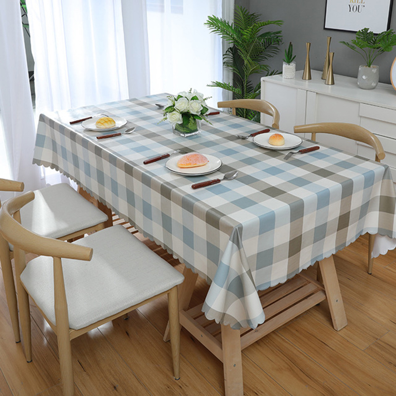 SKTEZO PVC Color Home Waterproof Table Cloth Manteles Para Mesa Rectangulares En Tela Hotel Coffee Table table cloth in Tablecloths from Home Garden