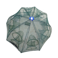 16 Hole Fishing Net Folded Portable Hexagon Network Casting Nets Shrimp Catcher Trap China Cages Mesh