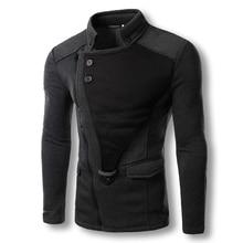 2017 Men Fashion Hoodies Zipper Sweatshirts Tracksuits Poleron Hombre Men s Casual Fashion Slim Fit Assassins