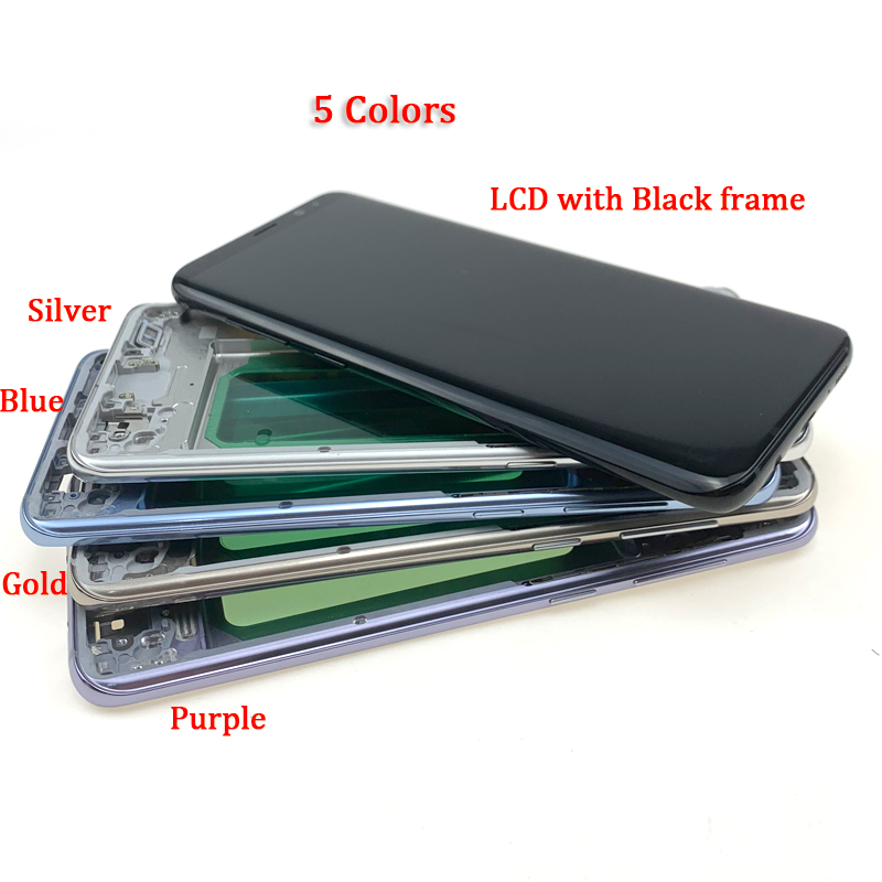 For-Samsung-Galaxy-S8-Plus-G955-LCD-SCREEN-WITH-FRAME-black-frame-主图4